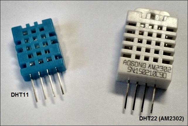 DHT11 e DHT22